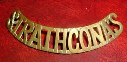 Cap Badges-canadian Boer War Stetson Hat Band Badge Lord Strathconas Horse
