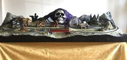 Ghoul-ville Model Train Layout Diorama