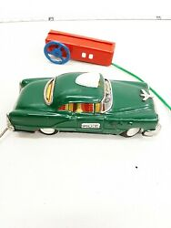 Mar Line Toys 1950's Buick Police Car Wired Remote Battery-op Stock E924