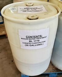Chemtreat Bl 1770 Boiler Water Treatment Corrosion Inhibitor 26 Gallons