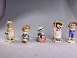 Vintage 1979 A Company of Friends Ceramic Ornaments Bundle In Great Conditions