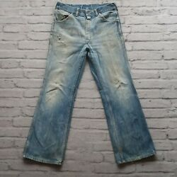 Vintage 60s Big Yank Denim Jeans Union Made In Usa Xx Bootcut