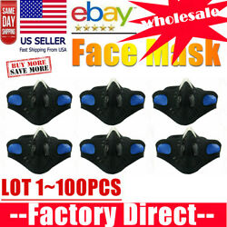 Cycling Face Mask Bicycle Motorcycle Ski Cover Anti-pollution Valve Us Lot