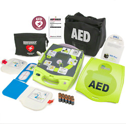 New Zoll Aed Plus Semi-automatic - New In Unopened Box 7 Year Warranty