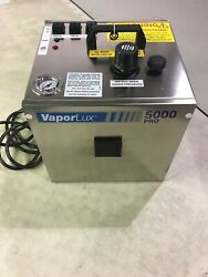Andnbspnew Vaporlux 5000pro Vapor Cleaning/sanitizing System W/utility Cart And Access