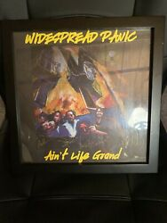 Widespread Panic Album Flat 1994 Autographed By All Of The Original Members