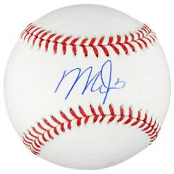 Mike Trout Los Angeles Angels Autographed Mlb Official Rawlings Baseball Coa