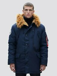 Alpha Industries N-3b Alpine Parka Coat Nylon N3b Mjn49503c1