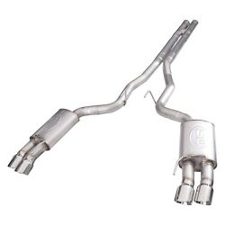 For Ford Mustang 18 Redline Series 304 Exhaust System Ss Turbo Chambered