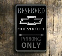 Chevrolet Parking Only Sign – Chevrolet Signs
