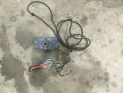 Yamaha Oem 10 Pin Throttle Control And Wire Harness Assy