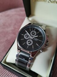 Gianni Santini Mens Watch Stainless Steel Brand New
