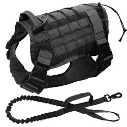 K9 Training Vest Tactical Dog Harness Molle Canine Harness Military Dog Vest US