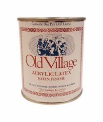 Old Village 1726pt Acrylic Latex 50 Sq. Ft. Coverage Paint 1 Pint Pack Of 6
