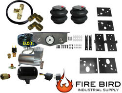 Air Tow Assist Kit Rear With Dual Toggle And Tank 2014-2021 Dodge Ram 2500