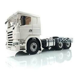 1/14 Hercules Cab Rc Lesu 66 Scania Metal Chassis Tractor Truck Differential
