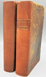 Brief Retrospect Of The Eighteenth Century By S.miller -1803 [2 Vols] Leather