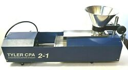 Tyler Cpa 2-1 Computerized Particle Analyzer Surplus As Shown