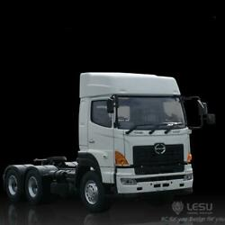 Lesu 1/14 Hino700 64 Rc Tractor Truck Trailer Metal Chassis Axles 2speed Model