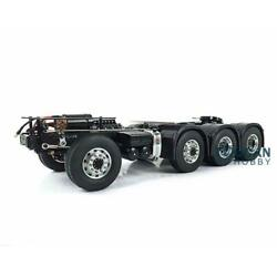 Lesu 1/14 Metal Scania 88 Chassis Gearbox Differential Axle Rc Tractor Truck
