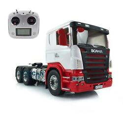 1/14 Lesu Rc 66 Metal Chassis Painted Hercules Scania Cabin Tractor Truck Radio