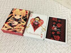 New Rozen Maiden Peach-pit Poker Card Game Trump Playing Cards Official Japan