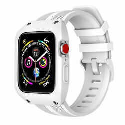 Iwatch Rugged Case Band Apple Watch Protective Bumper 38mm 42mm Series 3 4 5 New