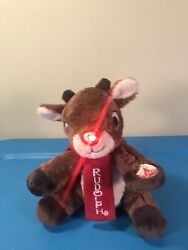 Rudolph 7 Animated Lighted Musical Plush Dandee 2013 Misfit Toys See Video