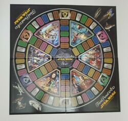 Trivial Pursuit Dvd Star Wars Saga Edition -board Only-replacement Parts/pieces
