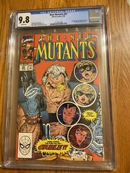 New Mutants 87 Cgc 9.8 White Marvel 1990 1st Appearance Of Cable Movie