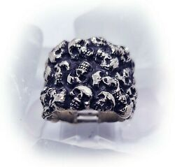 Valley Of The Shadow Of Death Silver Ring