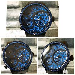 Curtis And Co. Leopard Exclusive Japanese Model Design Wristwatch