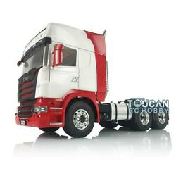 Lesu 1/14 66 Metal Chassis Paint Hercules Scania Cabin Chimney Rc Tractor Truck