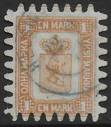 Finland Stamps 1866 Mi 10c Canc Vf Superb Scarce In This Quality