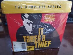 It Takes A Thief The Complete Series 18 Dvd Set. Oop