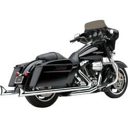 Cobra Dual Speedster Exhaust - Chrome - Fishtail - And03910-and03916 Dresser | 6974