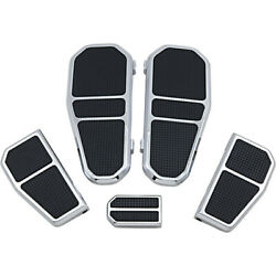 Gma Engineering By Bdl Front/rear Floorboard Kit - Chrome | Gma-fb-100ck