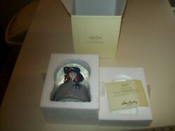 Lenox Winnie The Witch Waterglobe Lighted Art Hand Painted Needs 3 Aa Batteries