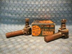 1932 1933 Oldsmobile Nors Pair Of Tie Rod Ends 6 And 8 Cylinder Olds