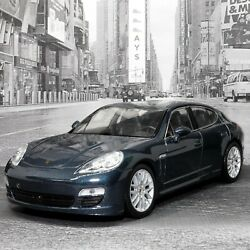 Porsche Panamera S 124 Scale Diecast Highly Detailed Model Toy Car By Welly Nex