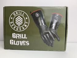 Grill Sergeant Oil And Heat Resistant Bbq And Cooking 18 Insulated Neoprene Gloves