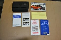 2007 Dodge Caliber Owners Manual W/ Case