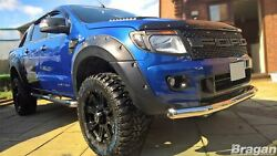 Front Spoiler Bar For Ford Ranger T6 2016+ Stainless Steel City Nudge Chin Guard