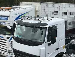 Roof Bar + Leds + Spot Lights + Clear Beacon For Scania P G R 6 09+ Low Day Cab