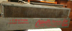 Vintage Caldwelland039s Car Cool Auto Swamp Cooler Great Graphics 2 Blowers