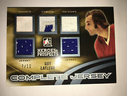 2015-16 In The Game Heroes And Prospects Complete Jersey Guy Lafleur 7/10