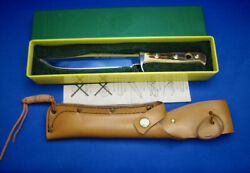 Vtg Bowie Knife 6396 High Carbon Steel1989 Made In Germany Unused Condition