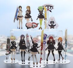Assault Lily Bouquet Official Acrylic Stand 9 Set Charm Key Chain Lily Yuyu