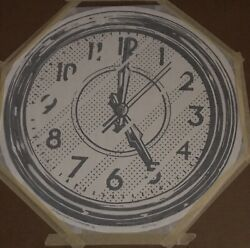 Joshua Vides Art Reality To Idea Somewhere Round Clock Print 22andrdquo Sold Out