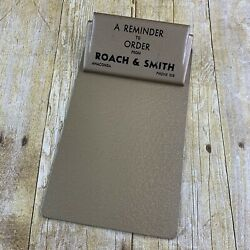 Roach X Smith Clipboard Small Metal Vintage Advertising